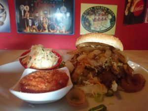 "Action Burger – The "" Po Boy "" Beef Burger"