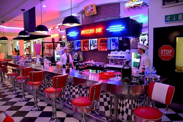 Die American Diner der Route 66