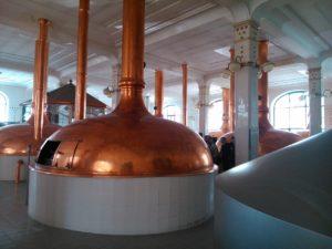 Bier Brauerei - Braukessel