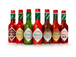 US Küche Louisiana Tabasco Flaschen